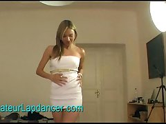 Amateur tattooed girl - strip and hot lapdance