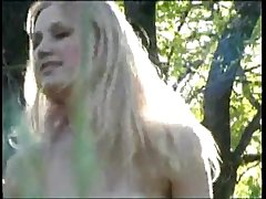Julia Belochkina - Russian Ero Model (In The Forest)