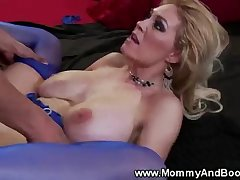 Busty hot milf in all directions stockings hardcore fucked