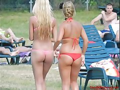 MicroBikini Tight Asses Candid Voyeur Girls