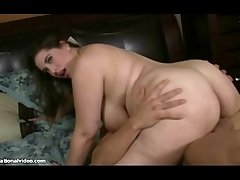 Sexy New Plumper Adriana Avalon Gets Drilled By Young Stud