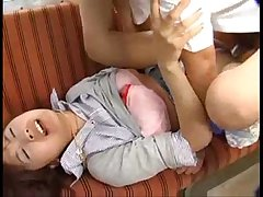 Japanese girl ravaged on train