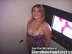Naughty Tampa Nurse Gets A Gloryhole Creampie