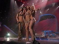 Russian pop stars group В_И_А_ Г_Р_А_ , erotic regurgitate show