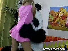 Toypanda sexy sing a long with teen ungentlemanly