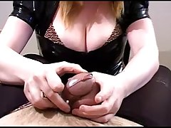 Femdom Chastity Crossdresser Tease and Denial