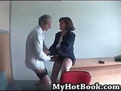 French mature married couple audition surpassing camera