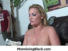 Mature lady loves big black cock to pleasure their way pussy - Interracial Porn 8